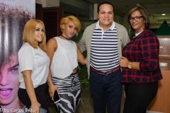 7. Geraldin Paulino, Susana Santana, Nathan Perez y Yudelkis Ramirez