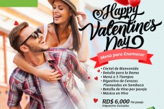 San Valentin Holiday Inn Santo Domingo Publicidad