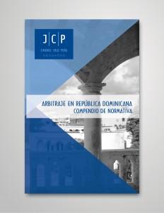 Portada del Libro Arbitraje en República Dominicana, Compendio de Normativa