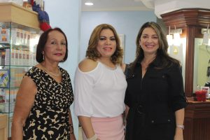 Gelen Soto, Aimee Alcantara y Lisette Selman
