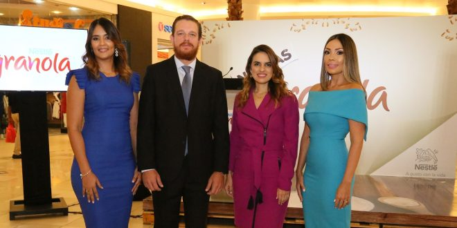 Nestlé Dominicana lanza granolas para toda la familia