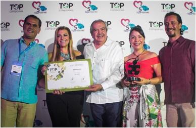 """AMRESORTS Galardonado con el Primer Lugar en el Ranking """"Top Companies de Centroamérica y El Caribe 2017"""""""