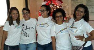 Fundación Puente de Bendición entrega almuerzo navideño a niños de la calle