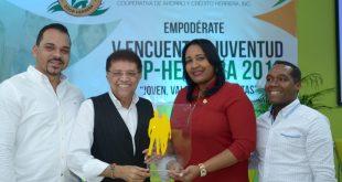 El comunicador Domingo Bautista participa en el 5to Encuentro Juventud Coop-Herrera 2018