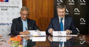 Altice Dominicana continúa realizando acuerdos con universidades del país