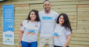 Banco Caribe se une a Techo en construcción viviendas